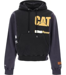 heron preston caterpillar hoodie