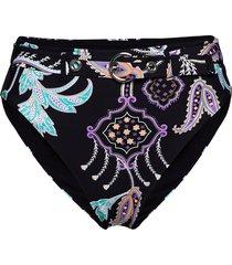 hi rise pant with belt bikinitrosa svart seafolly