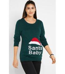 zwangerschaps kersttrui