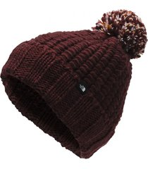 gorro cozy chunky rojo the north face