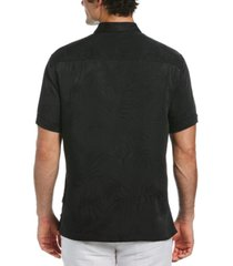 cubavera men's big & tall floral jacquard button down shirt
