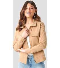 sisters point emmi jacket - beige