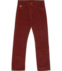 lois jeans burgundy dallas jumbo cord trousers 199