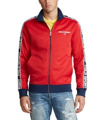 polo ralph lauren men's big & tall polo sport track jacket