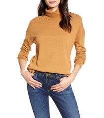 women's chelsea28 turtleneck sweater, size xx-large - brown