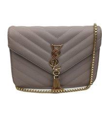 bolsa transversal la borsa caqui