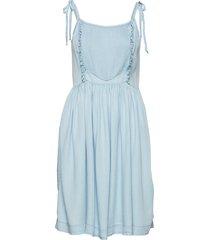 camden strap dress kort klänning blå designers, remix