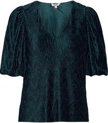 abela blouses short-sleeved blå mbym