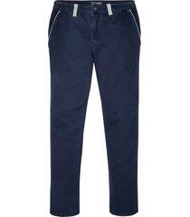 pantaloni chino elasticizzati regular fit (blu) - bpc selection