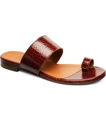 sandals 18701 shoes summer shoes flat sandals brun billi bi