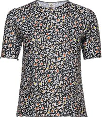 ibiza tinka t-shirts & tops short-sleeved zwart mads nørgaard