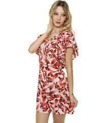 vestido coral sophya luxor