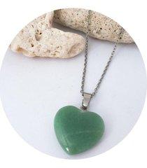 cadena de cuarzo cornalina verde jade