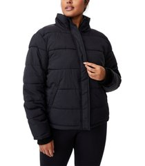 cotton on trendy plus size crinkle puffer jacket