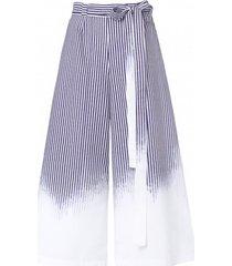 spodnie szwedy w paski