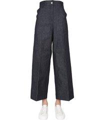 maison kitsuné high waist jeans