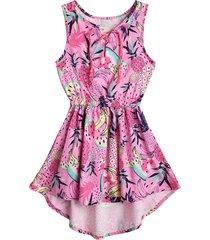 vestido manga sisa rosado  offcorss