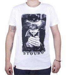 camiseta velho palheiro masculina - masculino