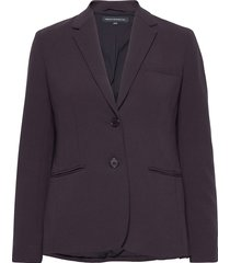 whisper ruth fitted blazer blazers business blazers paars french connection