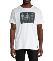 wesc men's max we are all equal t-shirt - white - size m