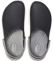 sandalia crocs literide clog preto