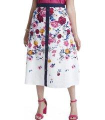 falda media pretina elasticada lorenzo di pontti