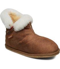 bella slippers tofflor brun shepherd