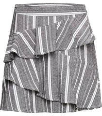 jivan skirt kort kjol grå iben