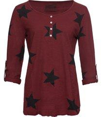 maglia a stelle (rosso) - rainbow