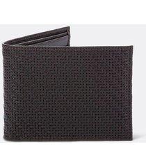 billetera en cuero con textura para hombre 08863