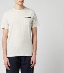 oliver spencer men's oli's t-shirt - oatmeal - xl