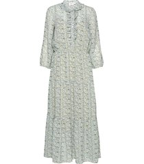 aurorasz maxi dress maxi dress galajurk groen saint tropez