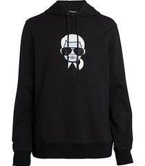 karl cartoon hoodie
