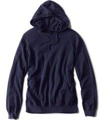 cotton/cashmere hoodie