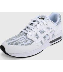 tenis lifestyle blanco-gris asics