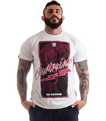 camiseta overtraining red ray of death branco