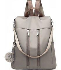 mochila / viaje de moda casual antirrobo mochila / oxford