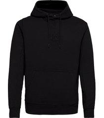 acid wash hoodie hoodie trui zwart calvin klein jeans