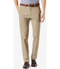 dockers men's signature lux cotton slim fit stretch khaki pants