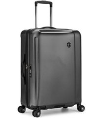 "traveler's choice halow 25"" polycarbonate spinner suitcase"