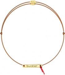 bransoletka na sznurku buckler