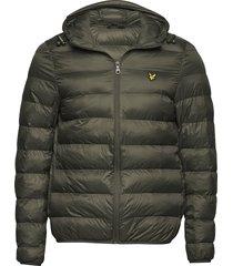 lightweight puffer jacket fodrad jacka grön lyle & scott
