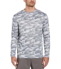pga tour men's camouflage-printed long-sleeve shirt