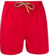 diesel go swim shorts - red