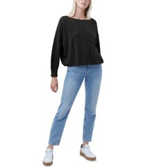 french connection mozart moss-stitch sweater