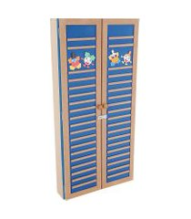 estante 2 em 1 carlu cantinho da leitura com 2 portas
