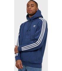 adidas originals 3-stripes hz tröjor marin blå