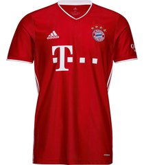 fcb h jsy t-shirts football shirts rood adidas performance