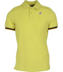 k-way vincent contrast stretch polo
