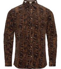 aklouis shirt skjorta casual brun anerkjendt